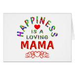 Mamá Happiness Tarjeton