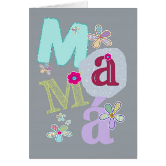 mamá, happy mother's day in Spanish Cards