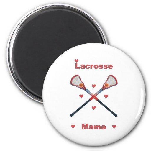 Mamá Hearts de LaCrosse Imán De Frigorífico