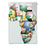 Mamá hermosa África del hola de Jambo Habari Áfric iPad Mini Carcasas