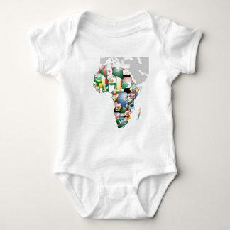 Mamá hermosa África del hola de Jambo Habari Body Para Bebé