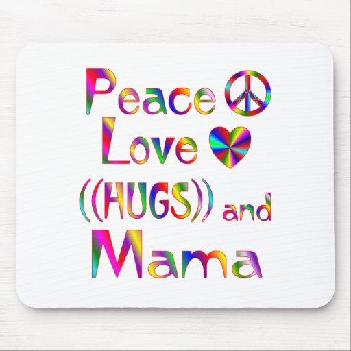 Mamá Hugs Alfombrillas De Ratón