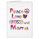 Mama Hugs Greeting Cards