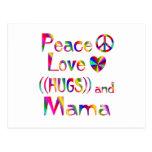 Mama Hugs Postcard