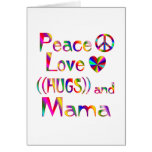 Mamá Hugs Tarjeton