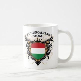 """""""Mamá húngara del número uno """" Taza"""