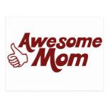 Mamá impresionante para el día de madres postales