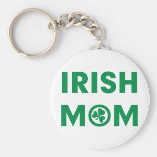 Mamá irlandesa llavero redondo tipo pin