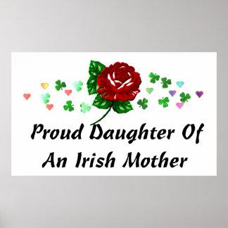 Mamá irlandesa póster