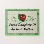 Mamá irlandesa rompecabezas con fotos