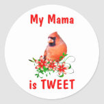 Mama is Sweet Classic Round Sticker