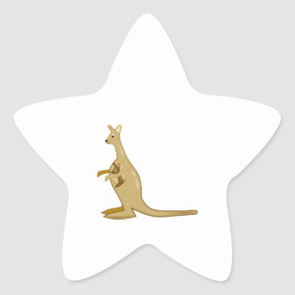 Mama Kangaroo Sticker