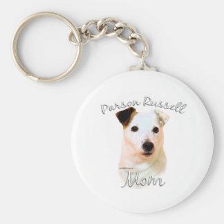 Mamá (lisa) 2 de Russell Terrier del párroco Llavero Personalizado