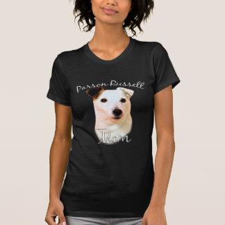 Mamá (lisa) 2 de Russell Terrier del párroco Playera