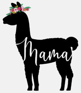 5536dc76 Mama Llama T-Shirts - T-Shirt Design & Printing | Zazzle