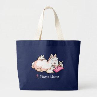 Mama Llama Large Tote Bag