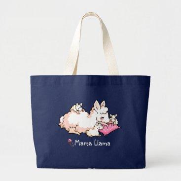 YamPuff Mama Llama Large Tote Bag