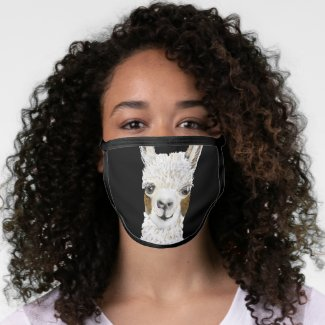Mama Llama Things Going to Change Face Mask
