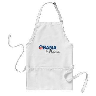 Mamá Logo Apron de Obama Delantal