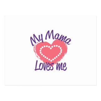 Mamá Loves Me Postales