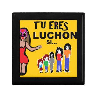 mama luchona carton keepsake box