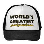 Mamá magnífica más grande del mundo la gran gorras de camionero