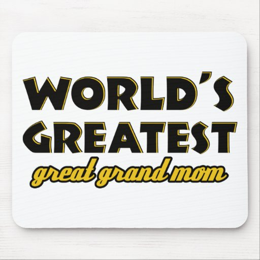 Mamá magnífica más grande del mundo la gran alfombrilla de raton