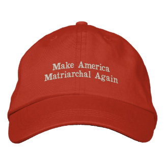 #MAMA Make America Matriarchal Again Embroidered Baseball Hat
