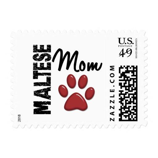 Mamá maltesa 2 sello