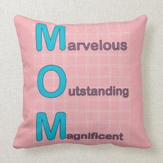 Mamá maravillosa almohada