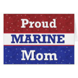 - Mamá marina orgullosa - pensamiento militar en u Tarjeton