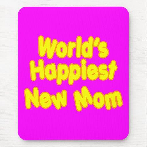 Mamá más feliz de los nuevos mundos de las mamáes  tapete de ratón