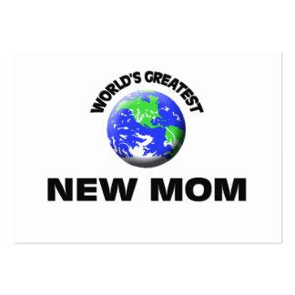 Mamá más grande del mundo la nueva tarjetas de visita