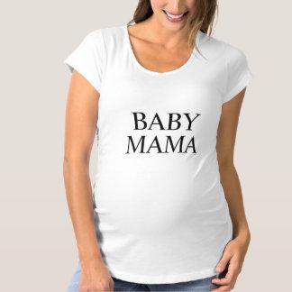 Mamá Maternity T-Shirt del bebé Playeras