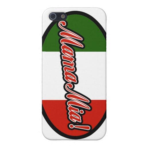 ¡Mama Mia! iPhone 5 Fundas
