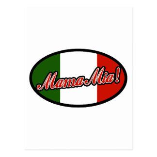 ¡Mama Mia! Postales