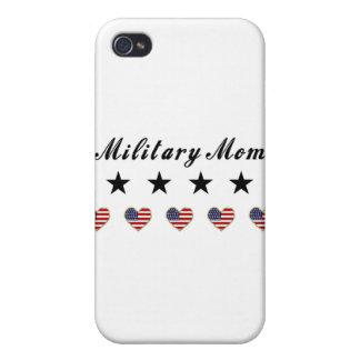 Mamá militar iPhone 4 cárcasa