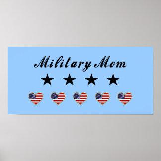 Mamá militar posters