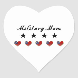 Mamá militar colcomanias corazon