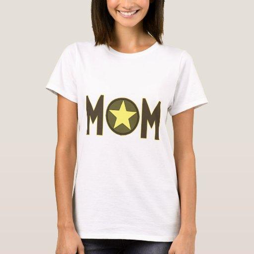 Mamá militar playera