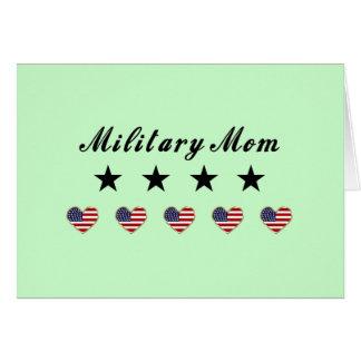 Mamá militar felicitaciones