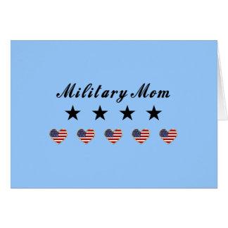 Mamá militar tarjetón