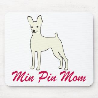 Mamá mínima del Pin Tapetes De Ratón