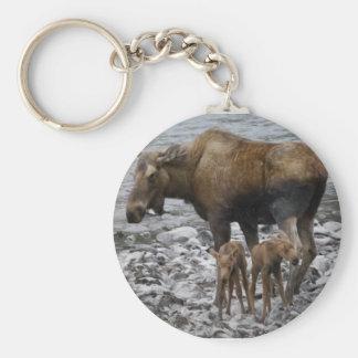 Mama Moose keychain