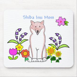 Mamá Mousepad de Shiba Inu Alfombrillas De Ratones