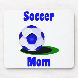 Mamá Mousepad del fútbol Alfombrilla De Ratón