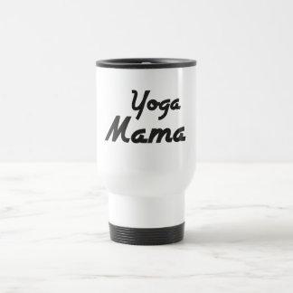 Mamá Mug de la yoga Taza De Viaje De Acero Inoxidable