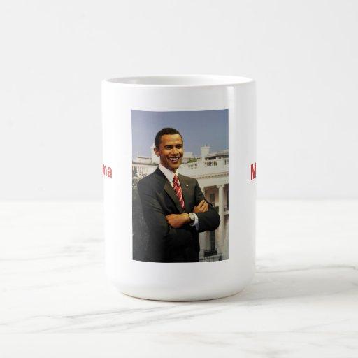 Mamá Mug de Obama Tazas