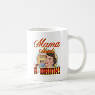 Mama Needs a Drink Coffee Mug