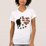 Mamá negra del laboratorio camisetas